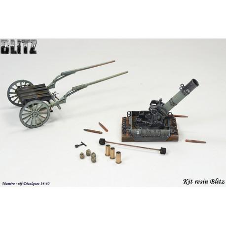 Mortier 240mm LT Mle 16 Batignolles