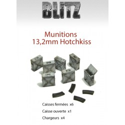 Munitions 13,2mm Hotchkiss