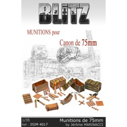 Munitions pour canon de 75mm