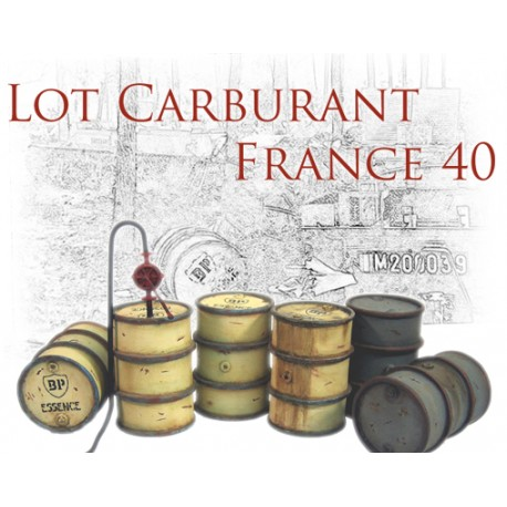 Lot carburant France 40 n°2