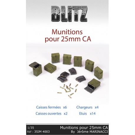 Munitions pour canon 25mm CA