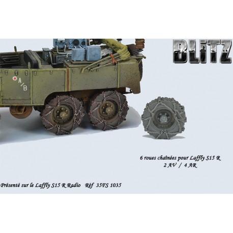 Roues chaînées pour Laffly S15 R