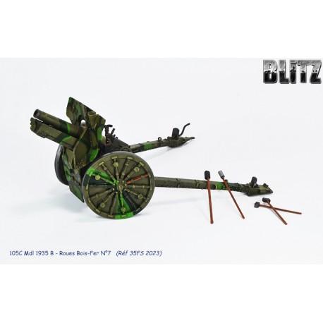 105C Mdl 1935 B - Roues Bois-Fer N°7