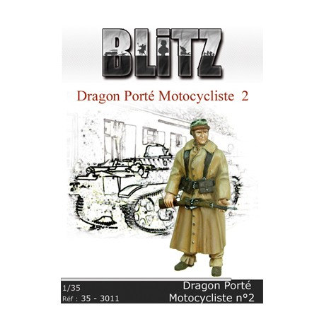 Dragon porté motocycliste N°2