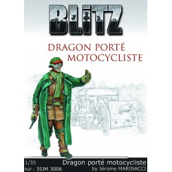 Dragon porté motocycliste
