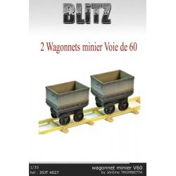 Wagonnets    minier    Voie 60
