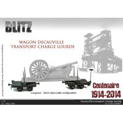 Wagon Decauville modèle 1915