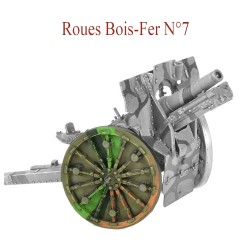 Roues Bois-Fer N°7