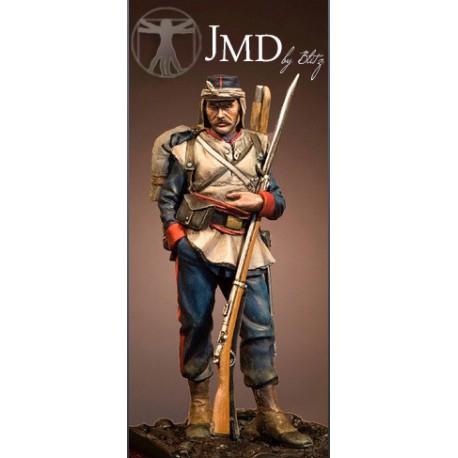 Soldat d'infanterie 1870
