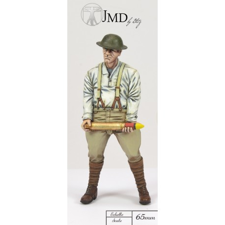01 French Artilleryman 75mm