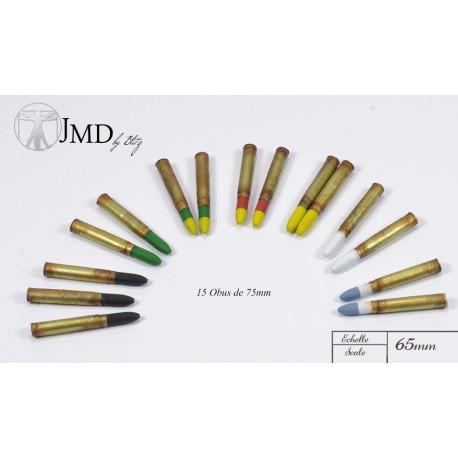 Ac01 Gun Ammunition Set 75mm