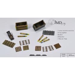 Ac01 Set de Munitions pour canon 75mm
