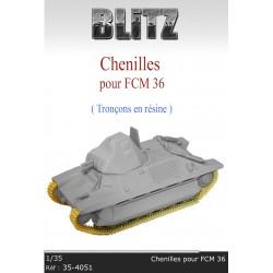 Chenilles pour FCM 36