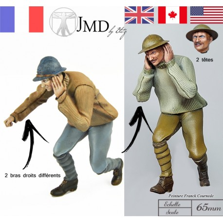 01 French / GB  Artilleryman N°8