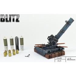 Mortar 240mm LT model 16 Batignolles
