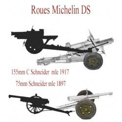 Roues michelin DS