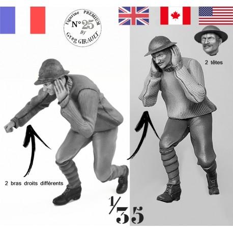 French / GB  Artilleryman N°8