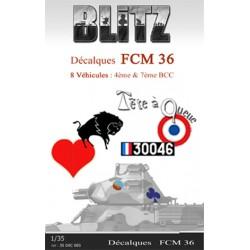 Décalques FCM 36