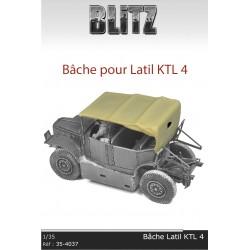 Bâche pour Latil KTL 4