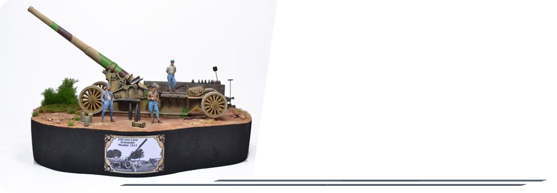 Diorama Canon de 220mm L