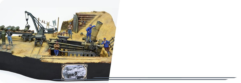 Mortier 370mm Filloux