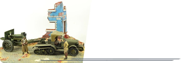 Diorama Campagne de 1940